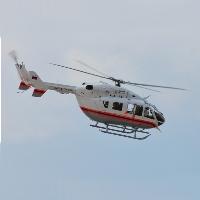 Медицинский вертолет Троицк