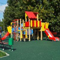 Пять детско-спортивных площадок планируется обустроить в Троицком округе